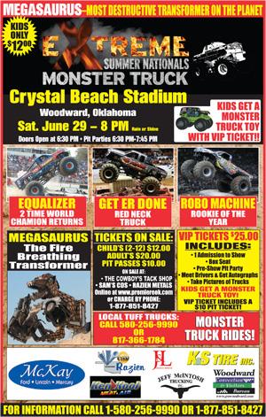 Extreme Monster Truck Nationals Summer Nationals